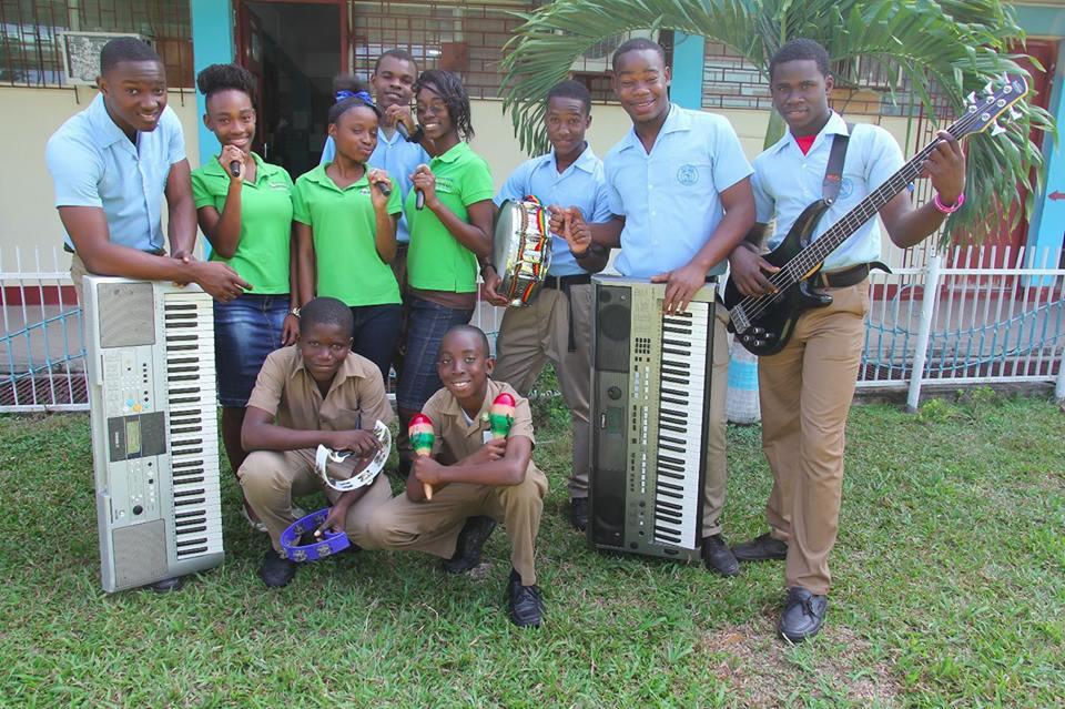 Jamaica's Best School Band turns Up the Heat!