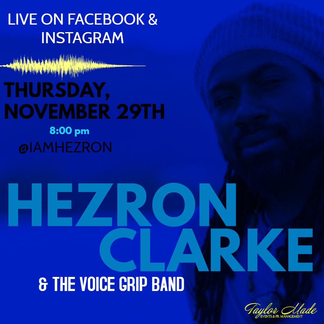 Hezron Goes Live!