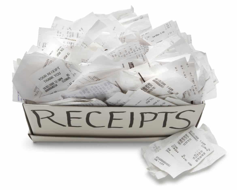 Receipt Please!